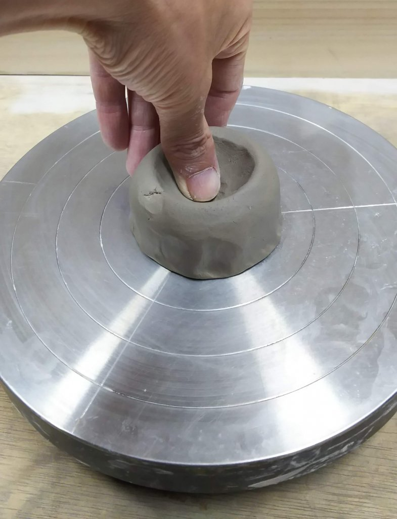 湯のみを作る方法