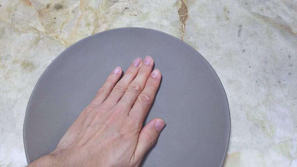 お皿の作り方