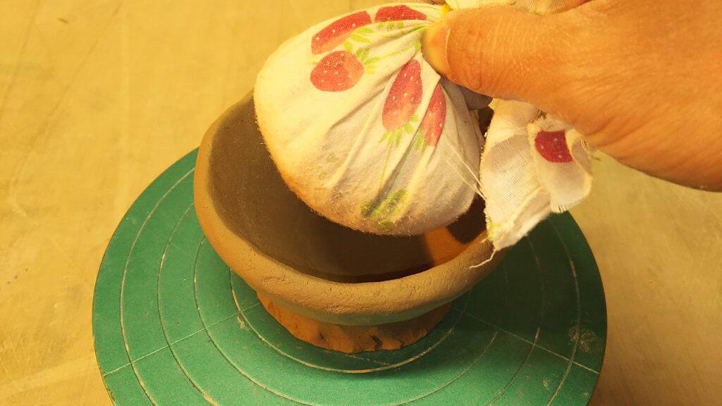 すり鉢の作り方