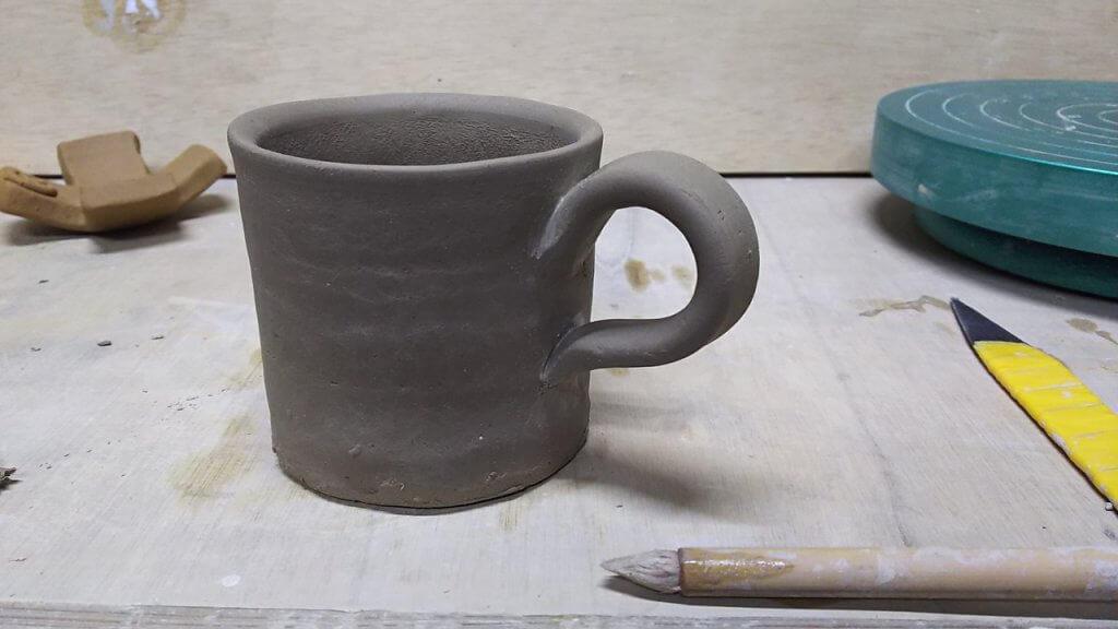 コーヒーカップとソーサーの作り方