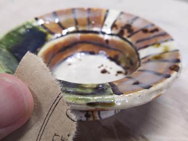 陶器の削り方