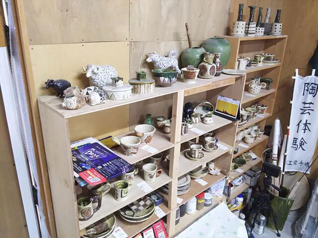 陶芸教室の流れ