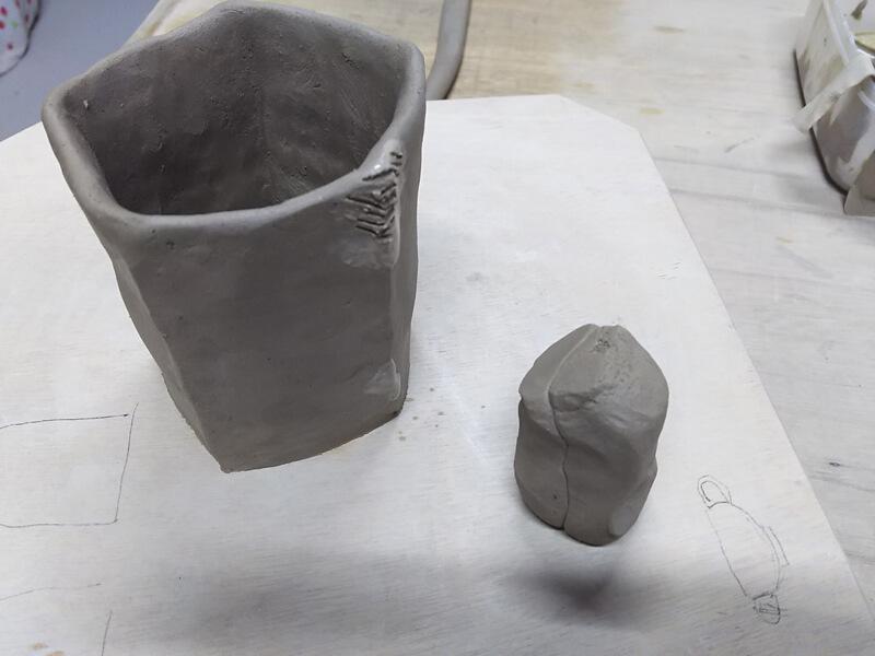 五角形マグカップの作り方